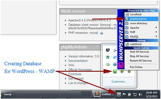 Creating_Database_for_WordPress_WAMP