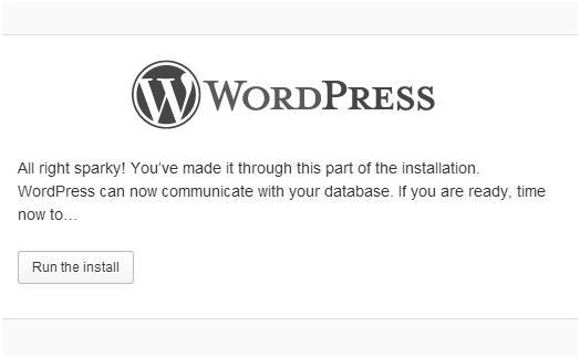 WordPress_run_install_WAMP