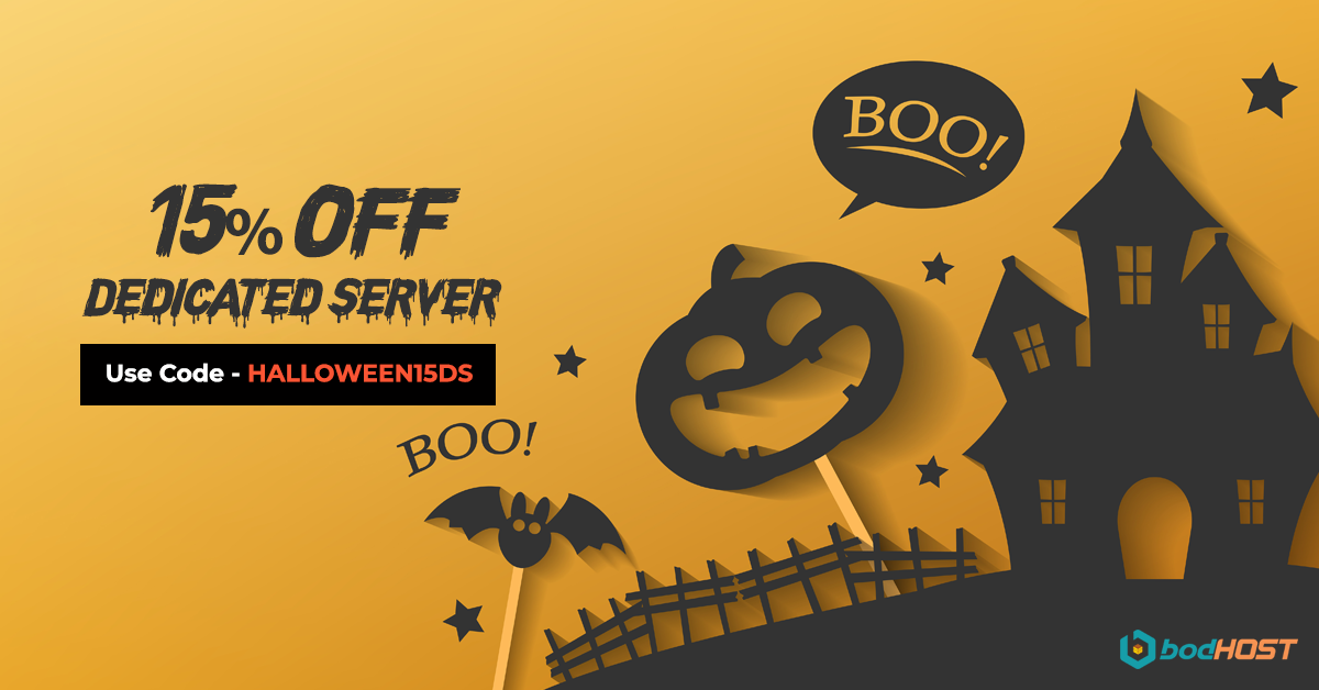 15% OFF Dedicated server