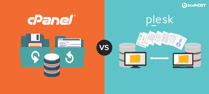 SUPPORT & BACK UPS cPanel Vs Plesk