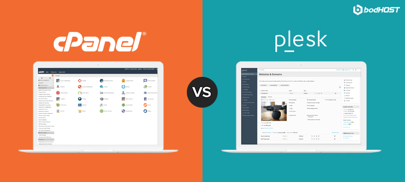 USER-INTERFACE & EASE OF USE - cPanel Vs Plesk