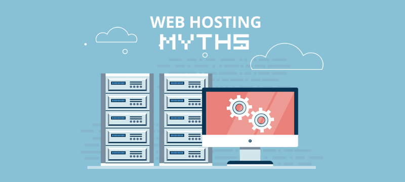 web hosting myths
