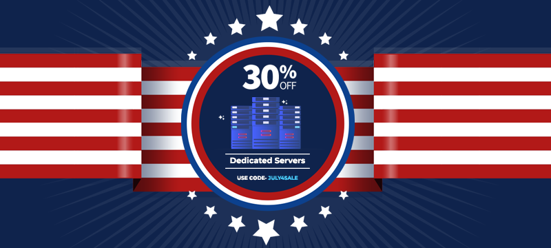 Independence day web hosting offer