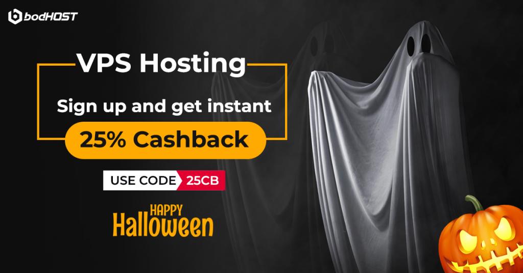 Halloween VPS hosting offers