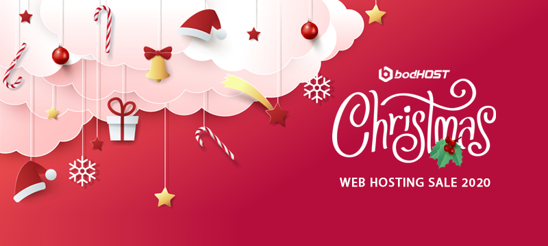 Christmas web hosting
