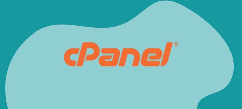 cPanel account user interface