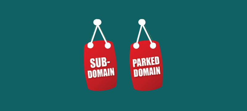difference between a Parked Domain and a Subdomain